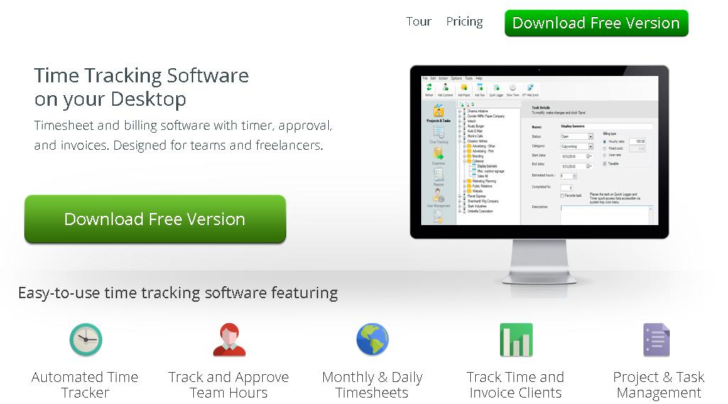 Understand How The Time Is Spend With Easy Time Tracking Software - Invoice tracking software free